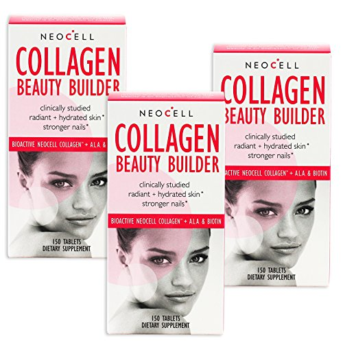 Neocell Laboratories - Collagen Beauty Builder - 150 Tablets (Pack of 3)