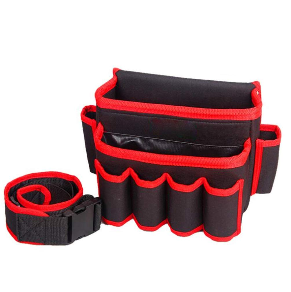SPP PANDA Electrician Pouch Tool Pouch Electricians Tool Pouch Tool Pocket Small Parts Storage Hardware Oxford Cloth Toolbox