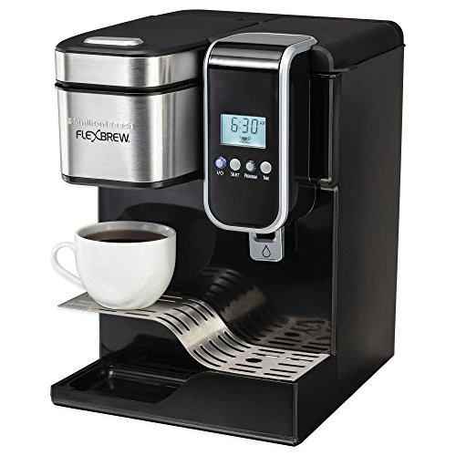 FlexBrew Programmable Single-Serve Coffeemaker with Hot Water Dispenser