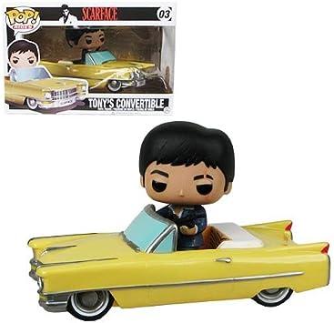 Scarface 1963 Cadillac Car Pop! Vehículo del vinilo con la figura: Amazon.es: Electrónica