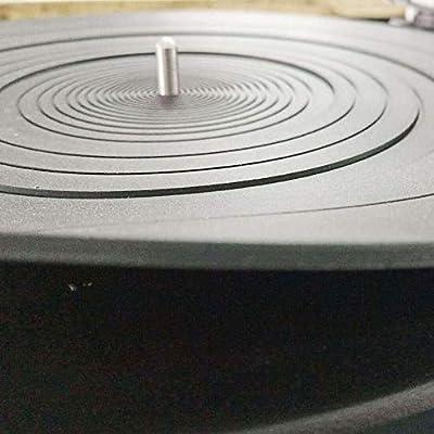 Ywhomal - Alfombrilla de Goma para Tocadiscos (Silicona, 30,5 cm ...