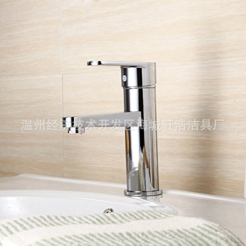 80%OFF SBWYLT-Long mix hot and cold faucets, copper basin above counter basin wash hose