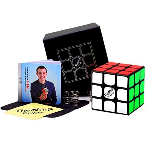 CuberSpeed QiYi Valk 3 Power M 3x3x3 Black Magic cube QiYi MoFangGe The Valk 3 Power Magnetic 3X3X3 Speed cube