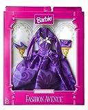 Barbie Fashion Avenue Evening Wear Elegant Purple Gown w/Accessories, Baby & Kids Zone