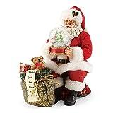 """Department 56 Possible Dreams Santa Claus """"Let It Snow"""" Clothtique Christmas Figurine"""
