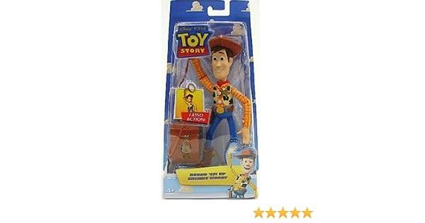 Mattel Disney Pixar Toy Story Round Em Up Sheriff Woody Action Figure P6078
