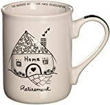 Enesco Children of the Inner Light Retirement Stoneware Gift Mug, 16 oz.
