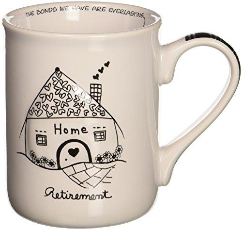 Enesco Children of the Inner Light Retirement Stoneware Gift Mug, 16 oz. (Enesco Mug)