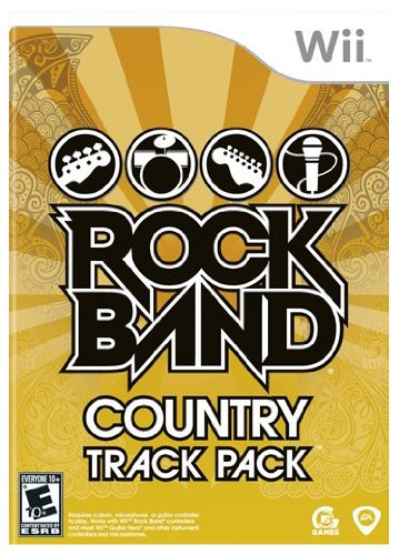 Price comparison product image Rock Band: Country Track Pack (Nintendo Wii)