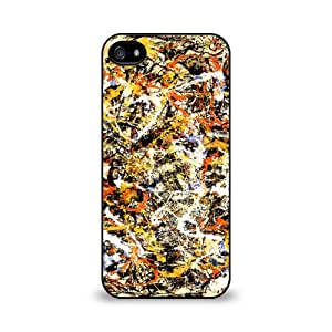 Jackson Pollack - Convergence Iphone 5/5S Soft Rubber Case