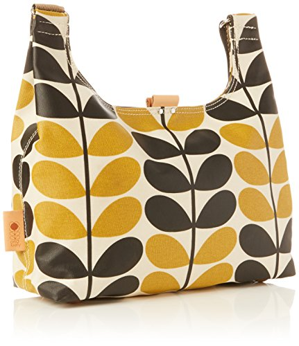 Orla Kiely Stem Check Print Mini Sling Bag, Dandelion by Orla Kiely (Image #2)
