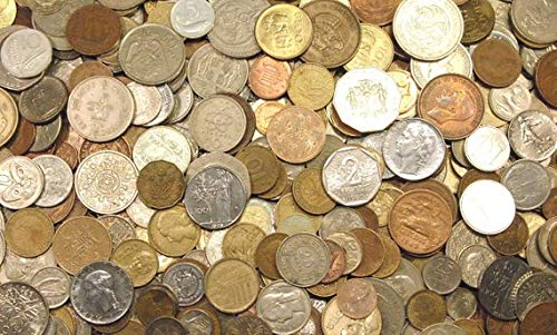 unknown 2000 & Earlier 5 Pounds of World Coins Circulated
