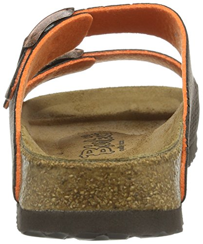Birki Arizona Unisex-Erwachsene Pantoletten Braun (Micro Dots Brown)