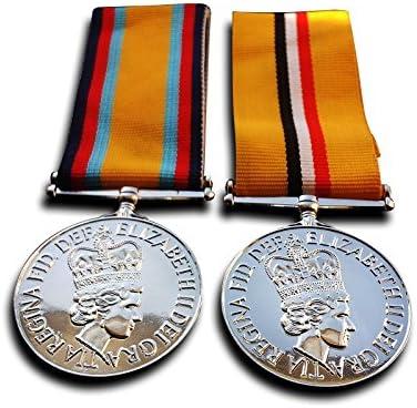 Militar medallas medalla de Iraq – 2003 – 2011, Guerra del Golfo medalla – Británico campaña medallas 1990 nuevo Repro: Amazon.es: Deportes y aire libre