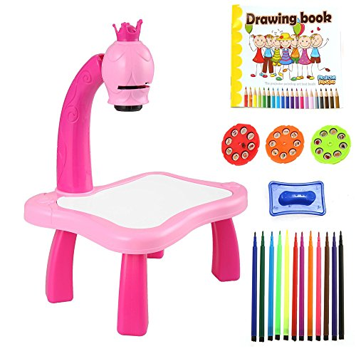 Amazon.com: Kids Educational Drawing Art Desk Toddler ...