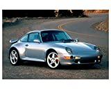 1997 Porsche 911 993 Turbo Automobile Photo Poster