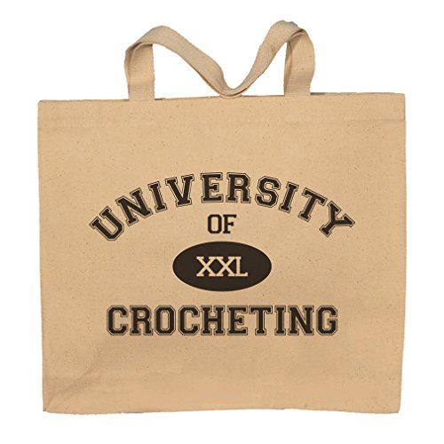 University Of XXL Crocheting Totebag Bag by T-ShirtFrenzy
