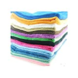 Strimm Washable Pet Dog Cat Litter Small Snuggle Mat Crate Kennel Covers Liners Absorbent Blanket Cushion for Furniture Couch Sofa Pillow Floor-3/Pack
