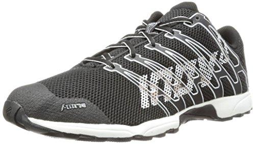 Inov-8 Men's F-Lite 240 (P) Cross-Training Shoe,Black/White,10.5 M US/12 M US Women's