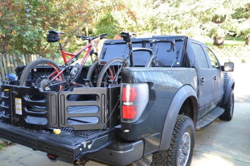 Truck Bed Bike Rack - Holds 3 Bikes by Pipeline Racks