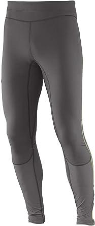 Salomon Pantalon Termico Para Hombre Galet Grey Small Amazon Es Ropa Y Accesorios
