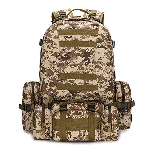 SHULING Outdoor Rucksack Klassische Mode Multifunktionale Kombination Dual Schulter Taschen Outdoor Sport Klettern Ein Paket