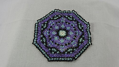 - Beaded doily country