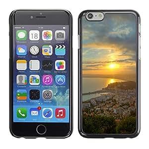 PC/Aluminum Funda Carcasa protectora para Apple Iphone 6 Plus 5.5 Nature Beautiful Forrest Green 68 / JUSTGO PHONE PROTECTOR
