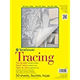 Strathmore 370900 25-Pound 50-Sheet Strathmore Tracing Paper Pad, 9 by 12-Inch