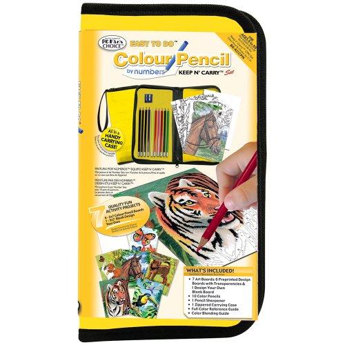 Royal and Langnickel Big Kids Keep N Carry Colour Pencil Art Set ()