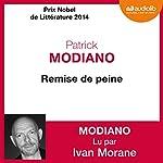 Remise de peine | Patrick Modiano