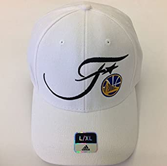 pretty nice ad44a 5c435 Image Unavailable. Image not available for. Color  Golden State Warriors  2016 NBA finals 100% Authentic Adidas White Flexfit Hat ...