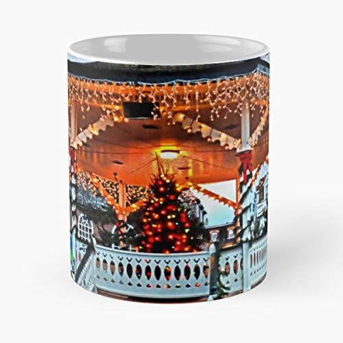 Bandstand Cape May Christmas Djphoto - Handmade Funny 11oz Mug Best Holidays Gifts For Men Women Friends. (Store Christmas Nj)