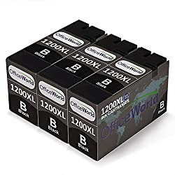 Office World Compatible Ink Cartridge Replacement for PGI-1200XL ink,Compatible with Maxify MB2020 Maxify MB2320 Printer