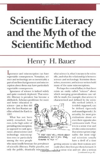 Scientific Literacy and the Myth of the Scientific Method (Illini Books)