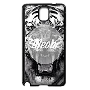 Samsung Galaxy Note 3 Cell Phone Case Black_quotes meow tiger FY1509994