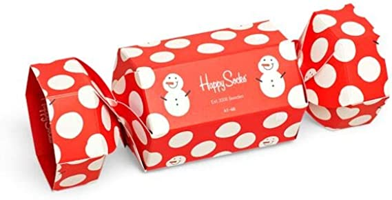 Happy Socks - Snowman Cracker Holiday - 1 paquete de regalo para ...