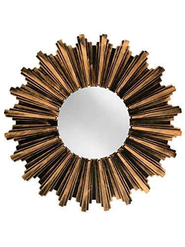 Kole Antiqued Bronze Sunburst Mirror product image