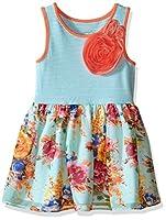Marmellata Girls' Bright Floral and Stri...