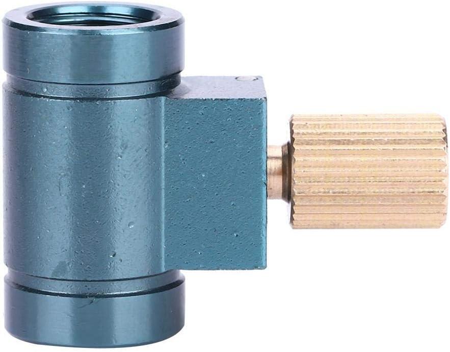Dioche Adaptador de Recarga de Gas, Acampar Al Aire Libre Senderismo Cabeza del Horno Tanque de Gas Inflar Accesorios Válvula