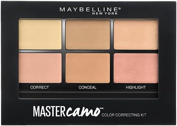 Maybelline New York Kit Corrector Master Camo - Piel media oscura: Amazon.es: Belleza