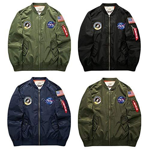 Giacca Giacca Giacca Giacca Moto Vintage Vento Giacca Bomber Abbigliamento Abbigliamento Bomber Giacca Leggera Cappotto Da Giacca Uomo Da Aviatore A Schwarz Sportivo Da 8WOwPWZtqx