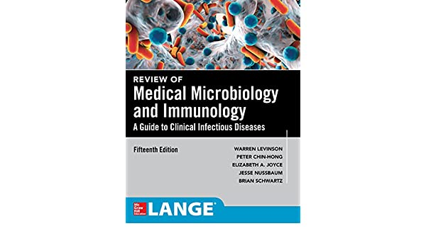 amazon com review of medical microbiology and immunology fifteenth