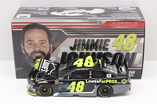 Lionel Racing Jimmie Johnson #48 Lowe's 2018 Chevrolet Camaro 1:24 Scale Arc Diecast Car