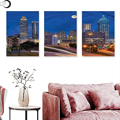Maps Wall Cosmopolitan (J Chief Sky Landscape Landscape Canvas Cosmopolitan Cityscape Wall Panel Art W 20