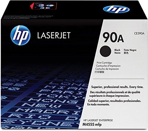 HP 90A (CE390A) Black Original LaserJet Toner Cartridge