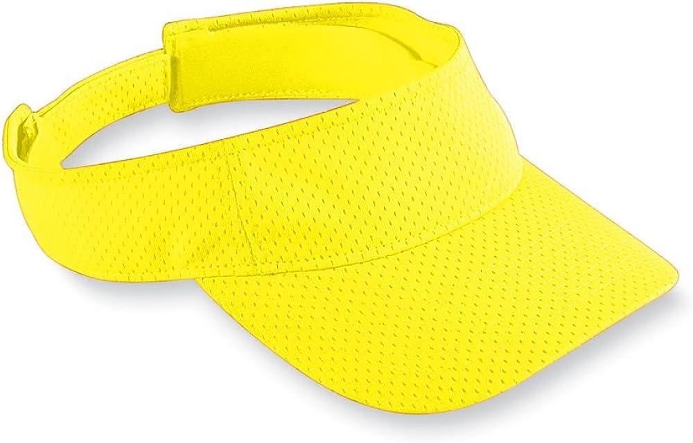 Augusta Sportswear Kids' Athletic MESH Visor OS Red: Augusta: Clothing
