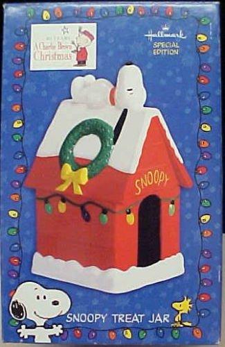 Hallmark Peanuts Snoopy Treat Jar A Charlie Brown Christmas Special Edition (Hallmark Cookie Jars)