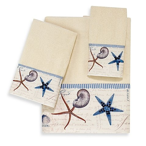 Avanti Antigua Towel Collection Ivory Hand Towel (Collection Avanti)