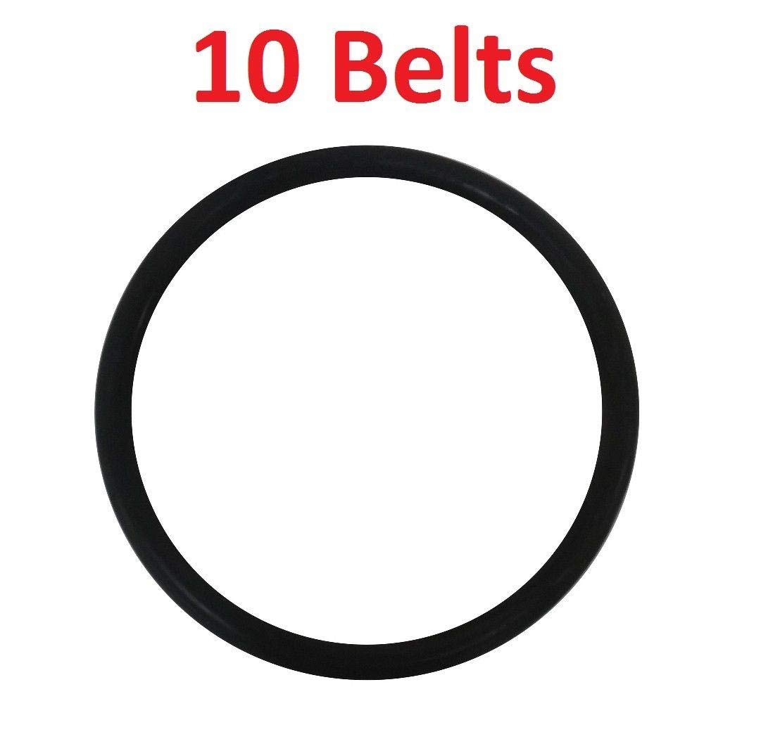 (Vacuum Parts) 10 Round Belts RD for Eureka & Sanitaire Upright Vacuum